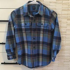 Gap Boys Flannel Button Up Shirt